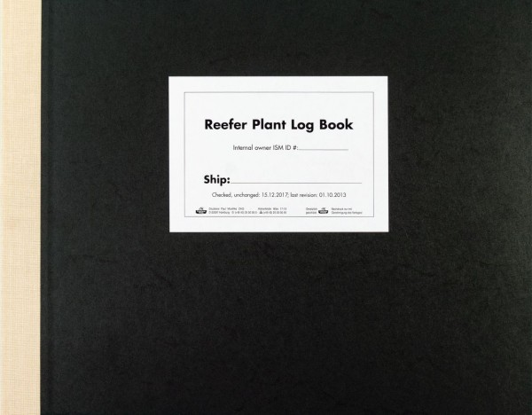 Reefer Plant Log Book