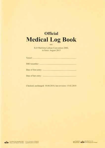 Medical Log Book