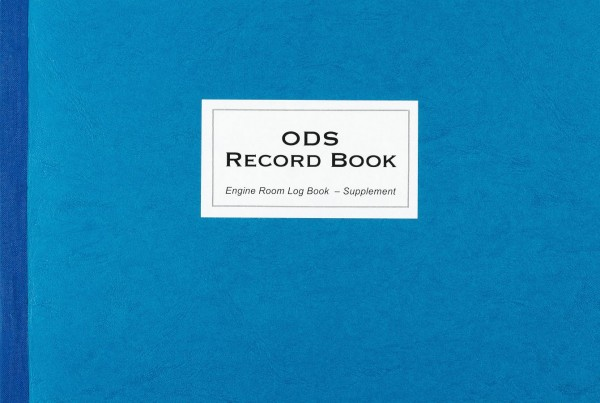 ODS Ozone Depleting Substances Record Book