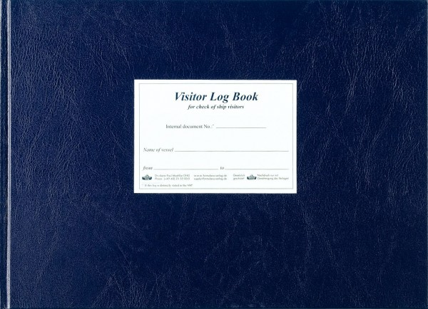 Visitor Log Book