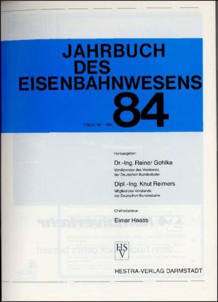 Jahrbuch des Eisenbahnwesens 1984, Band 35